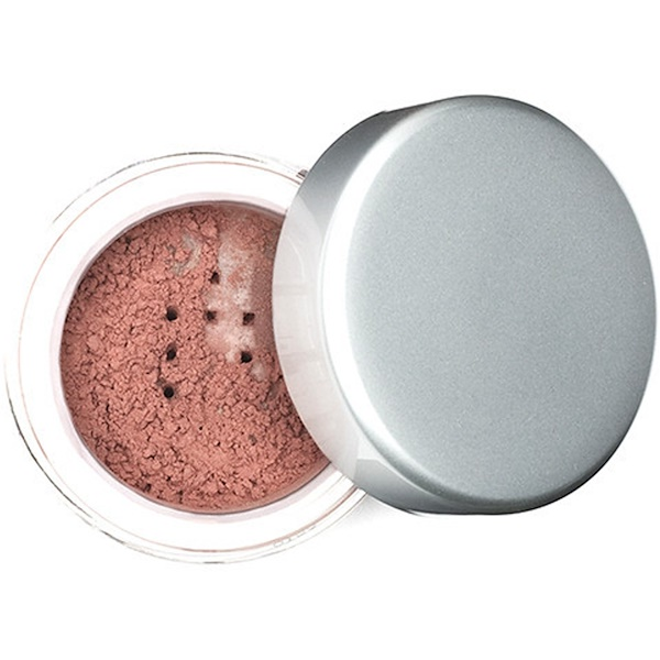 Aubrey Organics, Silken Earth Powder Blush, Warmed Rose, .10 oz (3 g) (Discontinued Item)