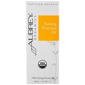 Обри Органикс, Organic, Evening Primrose Oil, 1 fl oz (30 ml) отзывы