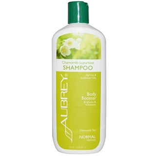 Aubrey Organics, Chamomile Luxurious Shampoo, Body Booster, Normal, 11 fl oz (325 ml)