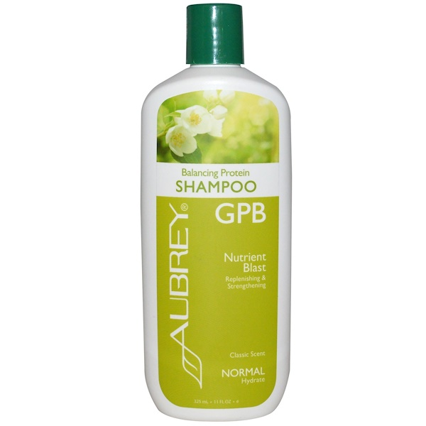 Aubrey Organics, GPB Balancing Protein Shampoo, Classic Scent, 11 fl oz (325 ml)