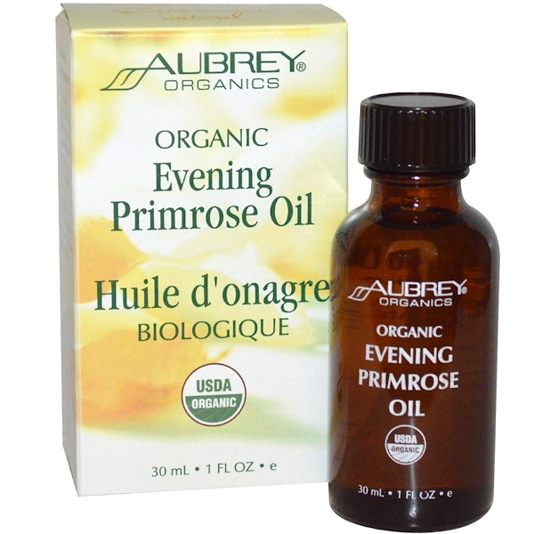 Aubrey Organics, Evening Primrose Oil, 1 fl oz (30 ml) (Discontinued Item)