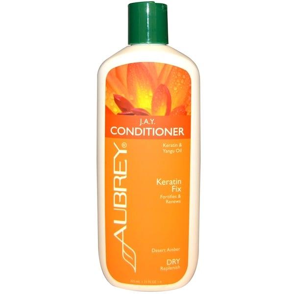 Aubrey Organics, JAY 護髮素,乾性髮質,柑橘丁香,11液量盎司(325毫升)