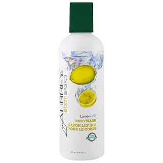 Aubrey Organics, Body Basics, Bodywash, Limoncello, 8 fl oz (237 ml)