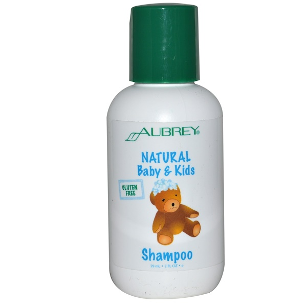 Aubrey Organics, Natural Baby & Kids Shampoo, 2 fl oz (59 ml) (Discontinued Item)