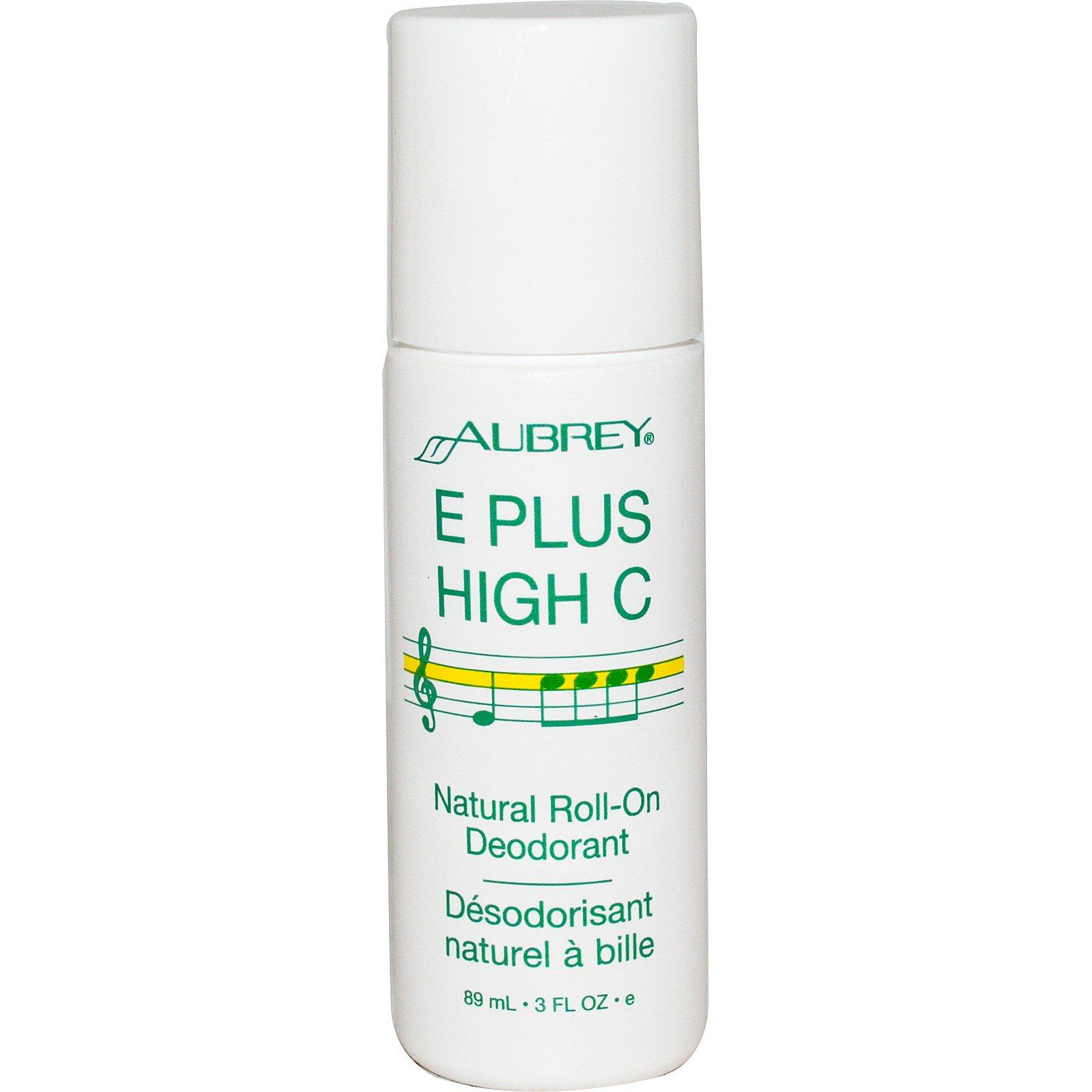 Aubrey Organics, Витамины E и C, Натуральный роликовый дезодорант, 3 жидких унции (85 мл)