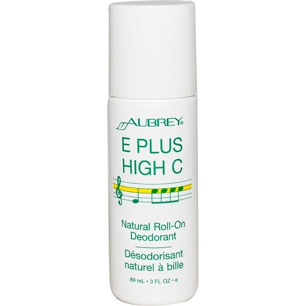 洗浴及美容體香劑滾珠體香劑:Aubrey Organics, 天然滾珠體香劑,3液體盎司(89毫升)