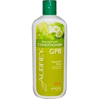 Aubrey Organics, GPB バランシング・プロティン・コンディショナー, ローズマリー・ペパーミント, ノーマル, 11 fl oz (325 ml)
