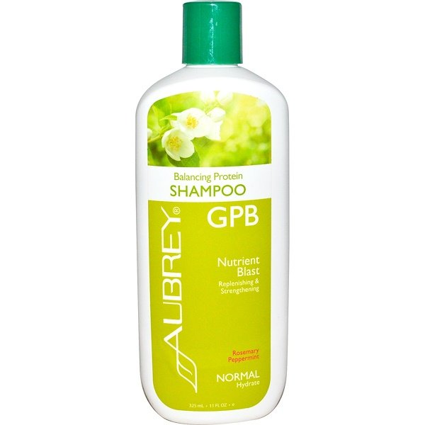 GPB Balancing Protein Shampoo, Rosemary Peppermint, Normal, 11 fl oz (325 ml)