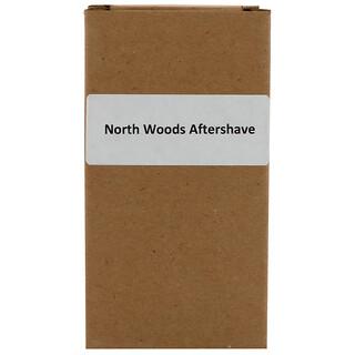 Aubrey Organics, Men's Stock, après-rasage des forêts du nord, pin classique, 118 ml (4 fl oz)