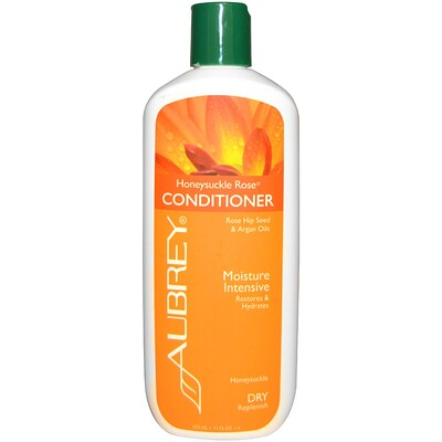 Купить Кондиционер с жимолостью и розой, восстановление и увлажнение, для сухих волос, 325 мл (11 унций)