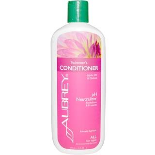 Aubrey Organics, Swimmer's Normalizing Conditioner, スペシャルケア, ストレスをうけた髪用, 11液量オンス (325 ml)
