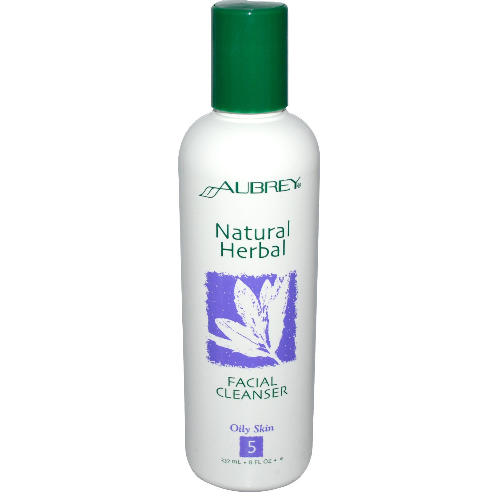 Natural herbal facial cleanser