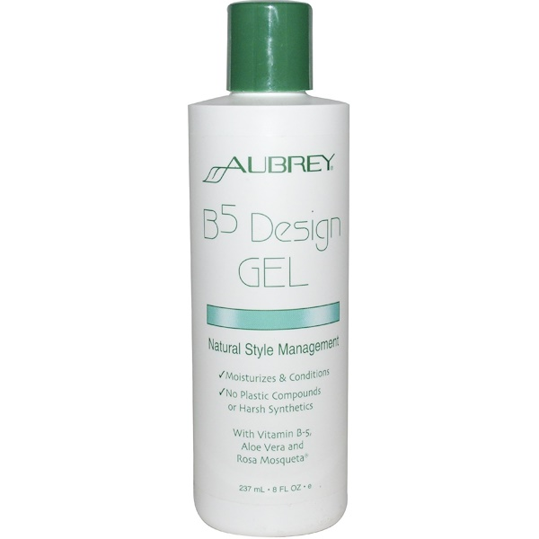 Aubrey Organics, B5 Design Gel, Natural Style Management, 8 fl oz (237 ml) (Discontinued Item)