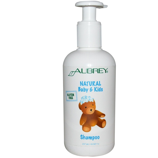 Aubrey Organics, オーブリーオーガニクス, Natural Baby & Kids Shampoo, 8 oz (237 ml) (Discontinued Item)