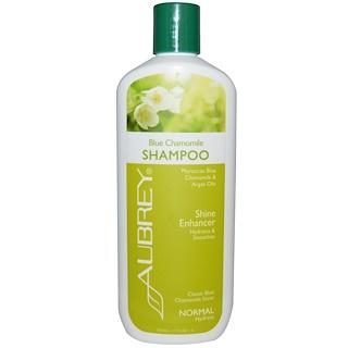 Aubrey Organics, Shampoing à la camomille bleue, révélateur de brillance, normal, 325 ml