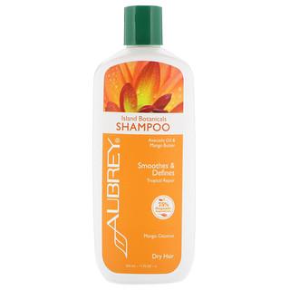 Aubrey Organics, Island Botanicals Shampoo, Dry Hair, Mango Coconut, 11 fl oz (325 ml)