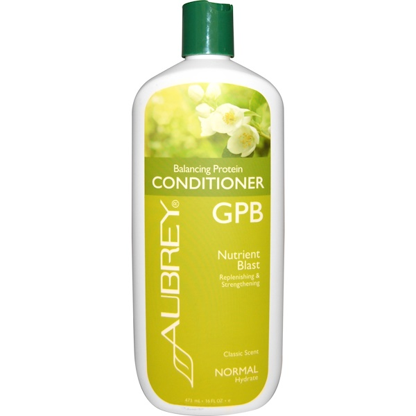 Aubrey Organics, GPB, Balancing Protein Conditioner, Classic Scent, 16 fl oz (473 ml) (Discontinued Item)