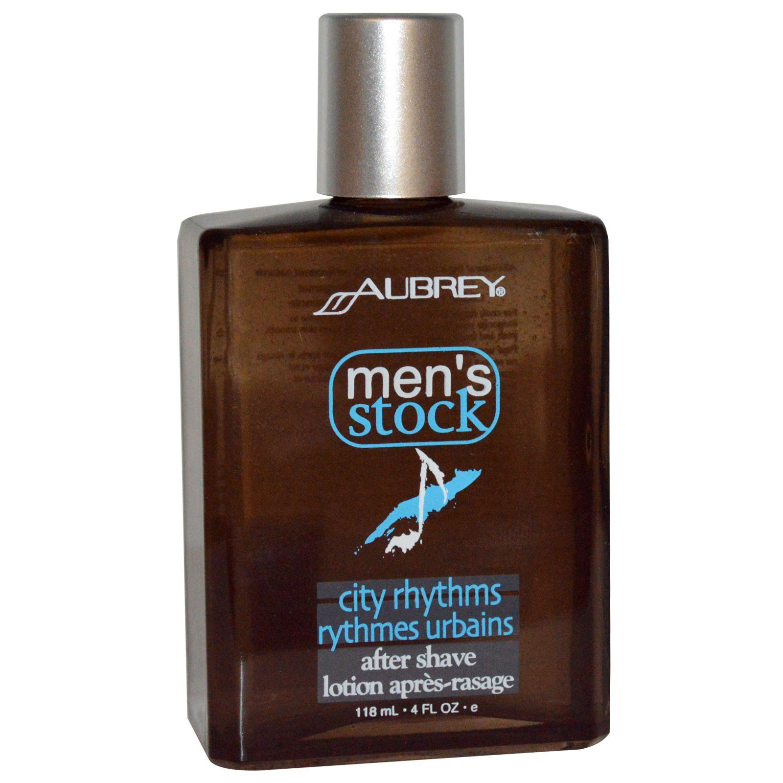 Aubrey Organics, Men's Stock, лосьон после бриться, 4 жидких унции (118 мл)