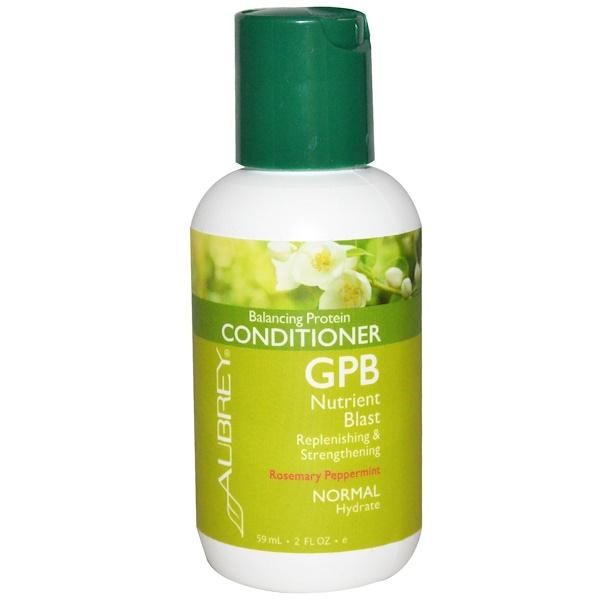 Aubrey Organics, Balancing Protein Conditioner, Rosemary Peppermint, 2 fl oz (59 ml) (Discontinued Item)
