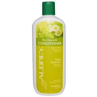 Aubrey Organics, Blue Chamomile Conditioner, Classic Blue Chamomile Scent, Normal, 11 fl oz (325 ml)