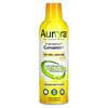Aurora Nutrascience, Mega-Liposomal Curcumin+، بنكهة الفواكه العضوية، 600 ملجم، 16 أونصة سائلة (480 مل)