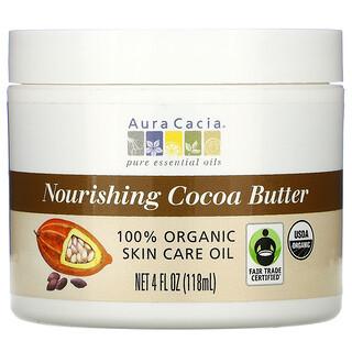 Aura Cacia, 너리싱 코코아 버터, 118ml(4fl oz)