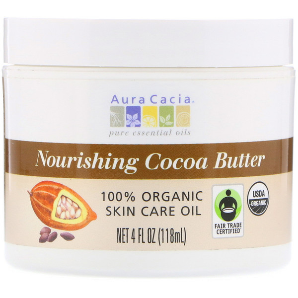 Aura Cacia, Nourishing Cocoa Butter, 4 fl oz (118 ml)