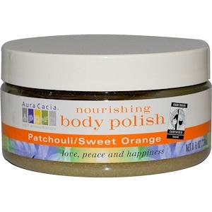 Аура Кация, Nourishing Body Polish, Patchouli/Sweet Orange, 8 fl oz (236 ml) отзывы покупателей