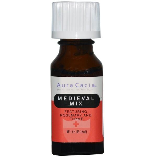 Aura Cacia, Medieval Mix, 0.5 fl oz (15 ml) (Discontinued Item)
