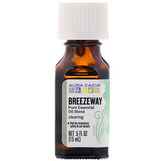 Aura Cacia, Pure Essential Oil Blend, Breezeway, 0.5 fl oz (15 ml)