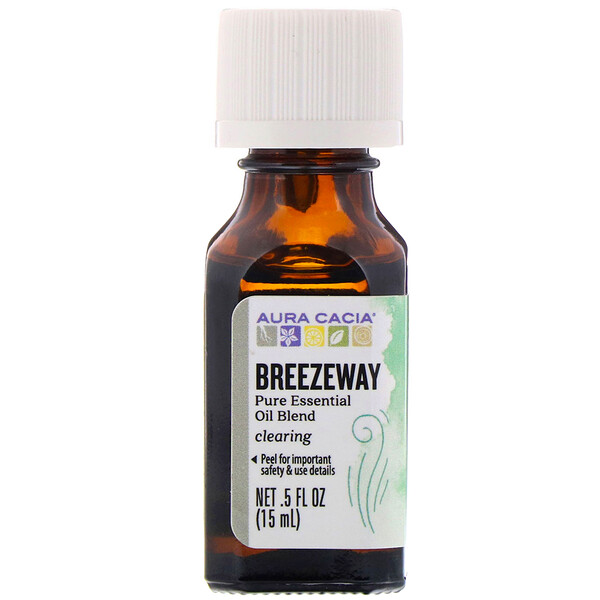 Pure Essential Oil Blend, Breezeway, .5 fl oz (15 ml)