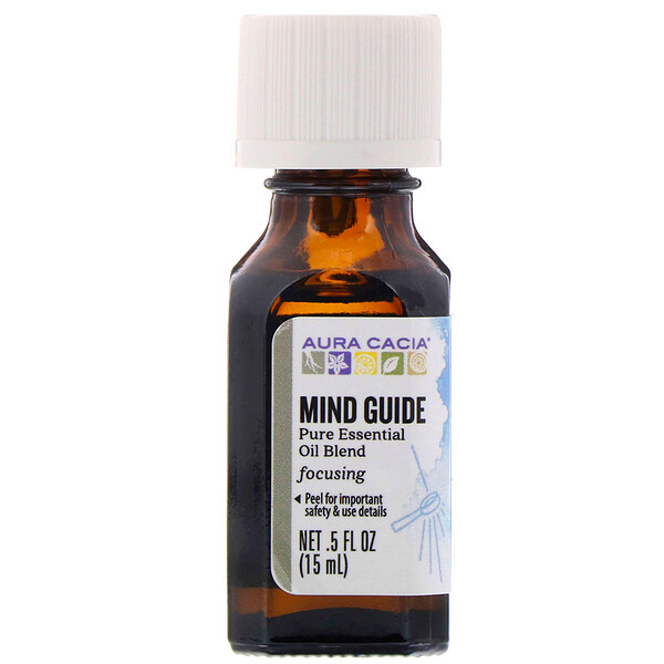 Pure Essential Oil Blend, Mind Guide, .5 fl oz (15 ml)