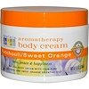 Aura Cacia, Aromatherapy Body Cream, Patchouli / Sweet Orange, 8 fl oz (236 ml) (Discontinued Item)