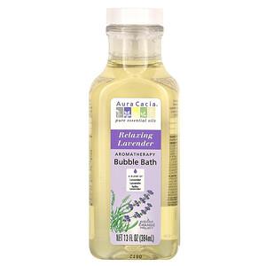 Аура Кация, Aromatherapy Bubble Bath, Relaxing Lavender, 13 fl oz (384 ml) отзывы