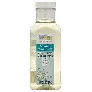 Аура Кация, Aromatherapy Bubble Bath, Tranquil Chamomile, 13 fl oz (384 ml) отзывы