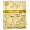 Aura Cacia, Aromatherapy Mineral Bath, Purifying Tea Tree , 2.5 oz (70.9 g)