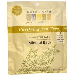 Аура Кация, Aromatherapy Mineral Bath, Purifying Tea Tree , 2.5 oz (70.9 g) отзывы