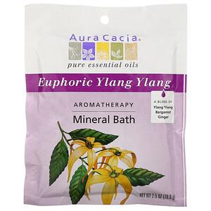 Аура Кация, Aromatherapy Mineral Bath, Euphoric Ylang Ylang, 2.5 oz (70.9 g) отзывы