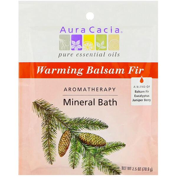 Baño mineral de aromaterapia, calentamiento, bálsamo de abeto, 2,5 onzas (70,9)