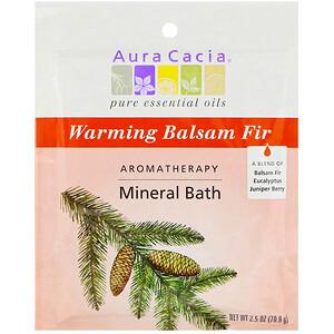 Аура Кация, Aromatherapy Mineral Bath, Warming Balsam Fir, 2.5 oz (70.9 g) отзывы