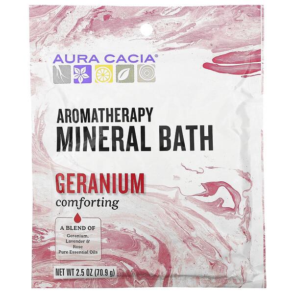 Aromatherapy Mineral Bath, Comforting Geranium, 2.5 oz (70.9 g)