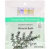 Aura Cacia, Ароматерапевтическое минеральное средство для ванны, вдохновляющий розмарин, 2,5 унции (70,9 г)