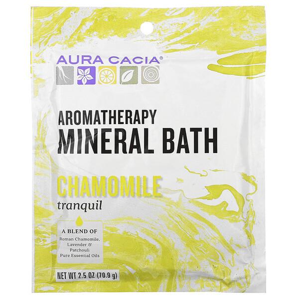 Bain Minéral AromaThérapie, Camomille tranquille, 2,5 oz (70,9 g)
