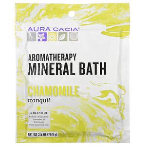 Аура Кация, Aromatherapy Mineral Bath, Tranquil Chamomile, 2.5 oz (70.9 g) отзывы
