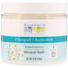 Aura Cacia, Baño Mineral de Aromaterapia, Camomila Tranquila, 16 oz (454 g)