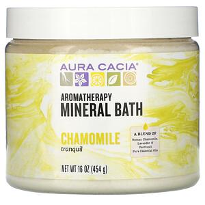Аура Кация, Aromatherapy Mineral Bath, Tranquil Chamomile, 16 oz (454 g) отзывы покупателей
