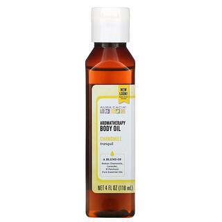 Aura Cacia, Aromatherapy Body Oil, Chamomile, 4 fl oz (118 ml)