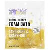 Aura Cacia, Banho de Espuma de Aromaterapia, Tangerina Refrescante & Toranja, 2.5 oz (70,9 g)