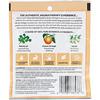 Aura Cacia, アロマセラピーフォームバス、 ピースフルパチュリー & スイートオレンジ、 2.5 oz (70.9 g)