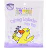 Aura Cacia, Espuma de baño calmante, Aceite esencial de lavanda, 2.5 oz (70.9 g)